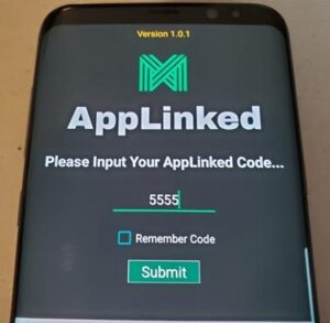 How To Use AppLinked with an Android Smartphone Step 1