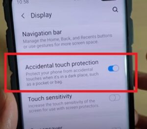 How to Enable or Disable Accidental Touch Protection Galaxy S10
