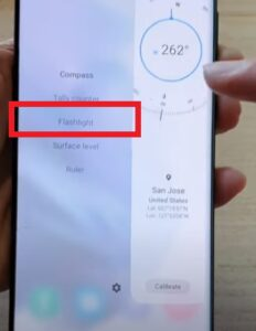 How To Activate SOS Flashlight on a Galaxy S21 Step 7